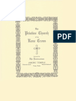 Pristine Church of the Rose Cross Outline Brochure