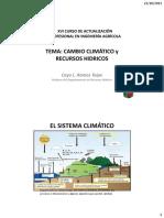 XVI CURSO Cambio Climatico CRT