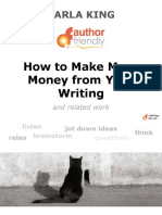 How to Make More Money with Your Writing and Related Works