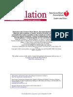 Guía de Depresión y Enfermedad Coronaria