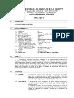Silabo Derecho Penal General II