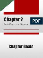 Chapter 1 STATISTICS