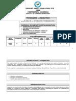 Tecnologia de La Inoformacion y La Comunicacion II INF311