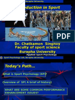 PPT Introduction in Sport Psychology