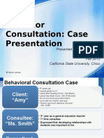 final draft behavioral case
