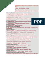 125 Preguntas de Historia Propuestas en Cesta y Puntos Del Curso 67