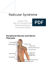 Radicular Syndrome Kuliah Blok