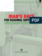 Iran's Race for Regional Supremacy Strategic Implications for the Middle East