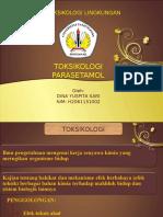 Tugas Toksikologi Parasetamol Dina Yuspita Sari (Nim h2061151002)