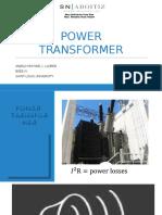 Slu_lloren, Anjelo Michael --Power Transformer
