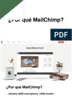 22. Por Que MailChimp