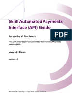 Skrill Automated Payments Interface Guide
