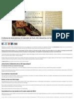 Profecías de Nostradamus_ El Atentado de París, IsIS, Desastres y La Tercera Guerra Mundial _ Código Oculto
