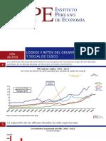 Logros y Retos del Desarrollo Económico y Social de Cusco