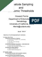 Sampling and Econ Thresholds 2012
