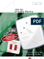 Aico Carbon Monoxide Alarms Product Guide