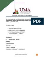 Trabajo de Investigación Farmacognosia 2016