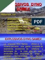 Explosivos Dyno Samex