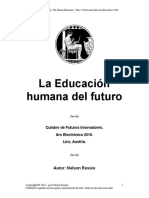 La educación humana del futuro - (Castellano - Proyecto - Idea - Prix Ars Electronica 2016)
