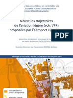 Aeroport Bron Trajectoires Charte Bron 2014