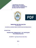 Modulo de Teorias Del Aprendizaje y Los Enfoques Psicopedagogicos - 2014