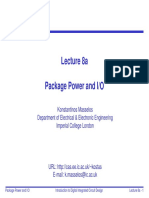 Lecture 8a - Package Power IO