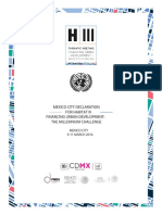 2 Mexico City Declaration for Habitat III 1