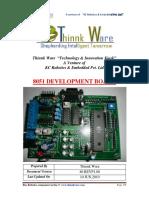 8051 Dev Board Datasheet