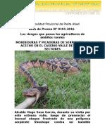 Nota de Prensa 2016 - 191