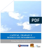 CAPITAL, TRABAJO Y MODELO DE DESARROLLO