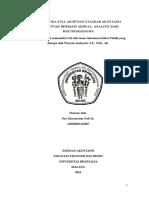Dilematika Full Adoption Standar Akuntansi Pemerintah Berbasis Akrual