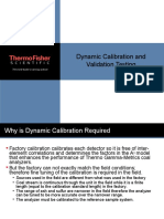 Dynamic Calibration and Validation Testing 080822