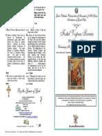 2016 -28-29 Aug-Vespers-beheading St John Baptist