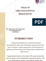 1 - StdWA - What is Organizational Behavior