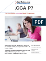 ACCA P7 Study Guide OpenTuition