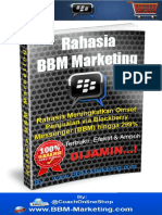1. Rahasia BBM Marketing