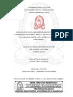 Organización, lucha y experiencia del movimiento social campesino del municipio El Paisnal, San Salvador. Recopilado de la oralidad y literatura, sobre la guerra civil salvadoreña