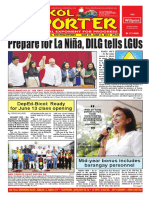 Bikol Reporter May 29 - June 4, 2016 Issue