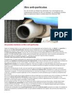 Averias Filtro Antiparticulas DPF-FAP