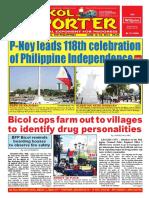 Bikol Reporter June 12 - 18, 2016 Issue