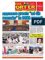 Bikol Reporter July 24 - 30, 2016 Issue