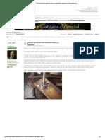 Tutorial de Colocação de Pomo Rosqueado à Espiga, Por Diego Berres