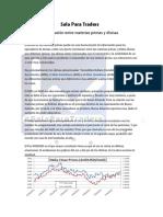 Correlación Entre Materias Primas y Divisas