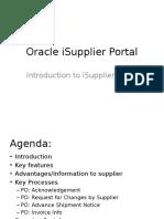 Oracle ISupplir Portal_1