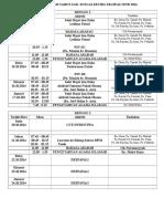 Jadual Program Tahun 6 Sk Plus