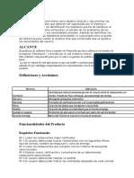 Partes de Documento SRS Para Ejercicio Famelique