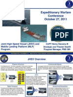 PMS385 DistA Brief for Expeditionary Warfare Conference 27Oct 11Final
