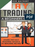 Day Trading by Matthew Maybury