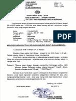 Contoh Surat Tanda Bukti Lapor Kehilangan Surat/Barang dari Kepolisian