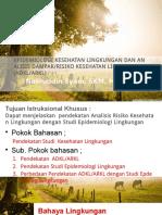 Epidemiologi Kesehatan Lingkungan Dan ADKL